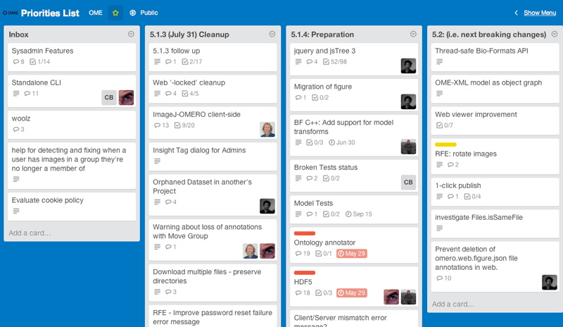 Team workflow summary — OME Contributing Developer documentation
